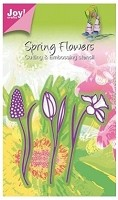 Joy Crafts - Die - Cutting & Embossing - Daffodil, Tulip & Hyacinth