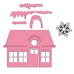 Marianne Collectables Die & Stamp Set - Xmas Village 1
