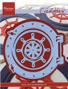 Marianne Design - Creatables Die - Porthole & Ship's Wheel