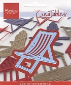 Marianne Design - Creatables Die - Tiny's Deck Chair