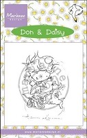 Marianne Design - Clear Stamp - Don & Daisy - Freeze Frame