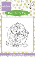 Marianne Design - Clear Stamp - Don & Daisy - It's A Butterfly