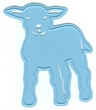 Marianne Design - Creatables Die - Little Lamb
