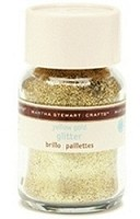 Martha Stewart Fine Glitter -Yellow Gold (1.5 oz. Jar)
