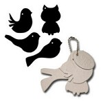Maya Road - Keychain Chipboard - Birds