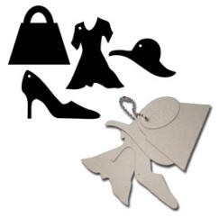 Maya Road - Keychain Chipboard - Fashionista