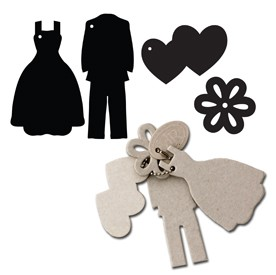 Maya Road - Keychain Chipboard - Formal