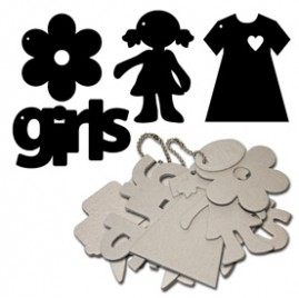 Maya Road - Keychain Chipboard - Girls