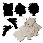 Maya Road - Keychain Chipboard - Nature