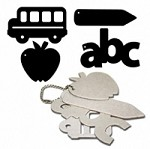 Maya Road - Keychain Chipboard - Back to School