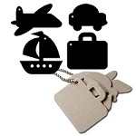 Maya Road - Keychain Chipboard - Travel