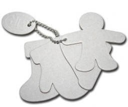 Maya Road - Keychain Chipboard - Christmas Shapes