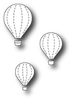 Memory Box - Die - Floating Balloon Trio