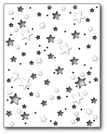 Memory Box - Die - Starry Night Background