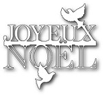 Memory Box - Die - Peaceful Joyeux Noel