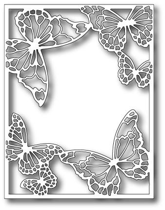 Memory Box - Die - Drifting Butterfly Frame