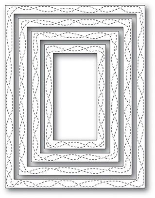 Memory Box - Open Studio Die Set - Wrapped Stitch Frames