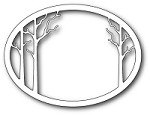 Memory Box - Die - Forest Clearing Oval Frame