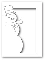 Memory Box - Die - Snowman Collage