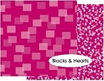 Memory Box-12x12 Cardstock Paper-Sweetheart-Blocks & Hearts