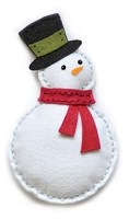 Memory Box - Die - Plush Bundled Snowman
