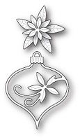 Memory Box - Die - Fanciful Poinsettia Ornament