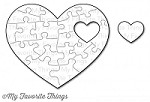 My Favorite Things - Die-namics - Heart Puzzle