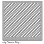 "My Favorite Things - MIX-ables Stencils - 6""x6"" - Diagonal Stripes"