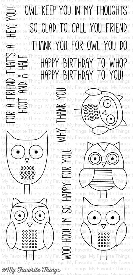 My Favorite Things - Clear Stamp - For Owl You Do