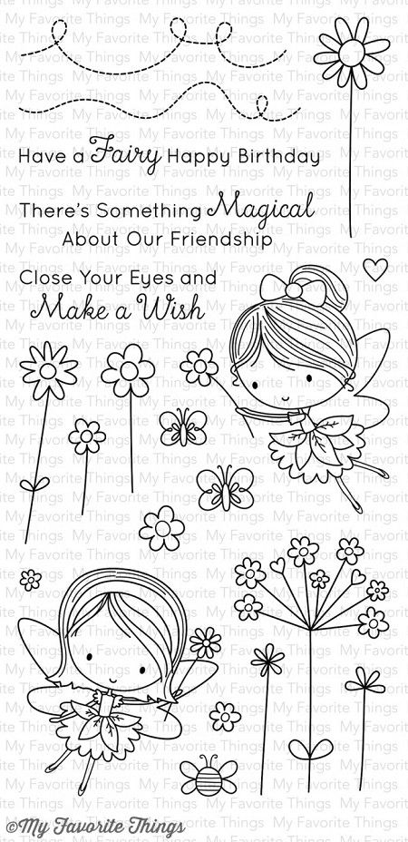My Favorite Things - Clear Stamp - Fairy Happy