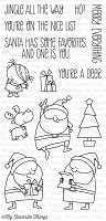 My Favorite Things - Clear Stamp - Jingle All The Way