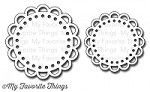 My Favorite Things - Die-namics - Open Scallop Doily Duo