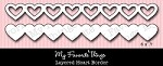 My Favorite Things - Die-namics - Layered Heart Border