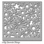 "My Favorite Things - MIX-ables Stencils - 6""x6"" - Funky Florals"