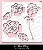 "My Favorite Things - MIX-ables Stencils - 6""x6"" - Rose Builder"