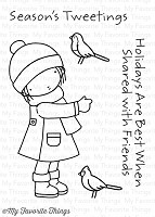 My Favorite Things - Clear Stamp - Pure Innocence Season's Tweetings