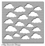 "My Favorite Things - MIX-ables Stencils - 6""x6"" - Cloudy Day"