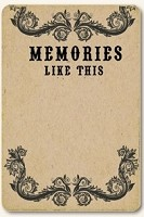 Life Stories Kraft Journal Card - Memories Like This