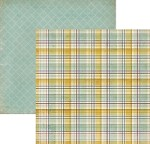 "My Mind's Eye - Miss Caroline - Fiddlesticks - Paper - ""Story"" Plaid"