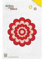 Nellie's Multi Frame Die  - Incire Flower - by Nellie Snellen