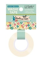October Afternoon - Woodland Park Collection - Floral Washi Tape