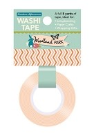 October Afternoon - Woodland Park Collection - Chevron Washi Tape