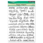 Penny Black - Clear Stamp - Happy Snippets
