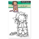 Penny Black - Clear Stamp - On The Pot
