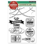 Penny Black - Clear Stamp - Wonderful & Jolly
