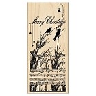 Penny Black - Wood mounted rubber stamp - Nature's Choir