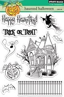 Penny Black - Clear Stamp - Haunted Halloween