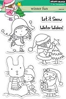 Penny Black - Clear Stamp - Winter Fun