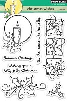 Penny Black - Clear Stamp - Christmas Wishes