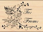 Penny Black - Wood Mounted Stamp - To You and Yours